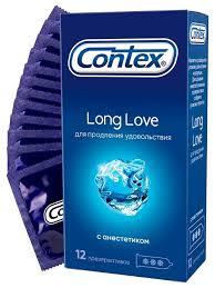 <b>Презервативы</b> Contex <b>Long</b> Love — купить по выгодной цене на ...