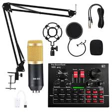 Bm800 <b>pro</b> condenser microphone kit with <b>v8x pro</b> muti-functional ...