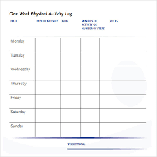 daily activities log template excel activity log template 12 free word excel pdf documents download