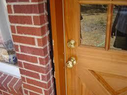 Backyards Photo10211402 How To Install Exterior Door Slab Jamb
