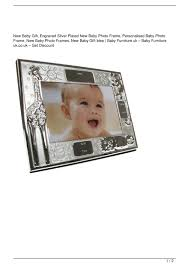 new baby gift engraved silver plated new baby photo frame personalised baby photo frame new baby photo frames new baby gift idea big