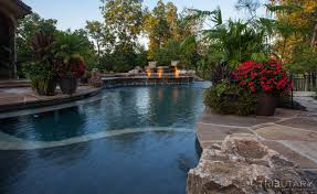 Pool Landscape Design Tropical Oasis Tributary Pools Spas