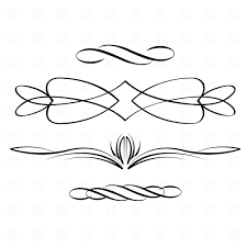decorative scroll free clipart clipart kid picture black and white