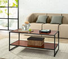 large contemporary coffee tables elegant zinus modern studio collection deluxe rectangular coffee