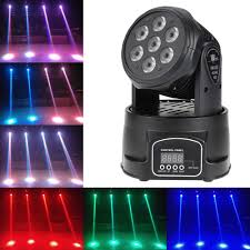 Beat Sync Lights Uk 4in1 Rotating Moving Stage Light Rgbw Color Led Projector