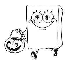 Small Picture SPONGEBOB COLORING PAGE of Spongebob Squarepants dressed as a
