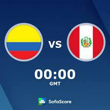 Colombia Peru live score, video stream ...