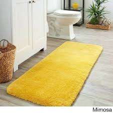 spa bath rug yellow rugs light