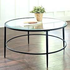 round black glass coffee table round glass coffee table s black with chrome legs black