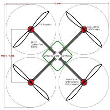 Quad18X12 advanced multicopter design copter documentation on 50 20 30 budget template