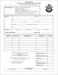 Sample Order Form Clothing Order Form Template Free Besttemplates24 Sample Order 7