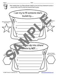 Small Picture 65 best Bucket Filling School Counseling images on Pinterest