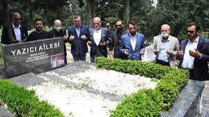 Bursaspor'un yeni yönetiminden İbrahim Yazıcı'ya ziyaret