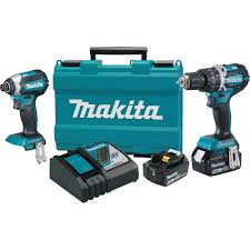 makita tools. makita 18-volt lxt lithium-ion brushless cordless hammer drill and impact driver combo tools a