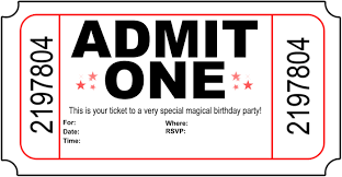 Airplane Invitations Tickets Blank Free Ticket Template 8