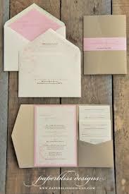 blush pink peony wedding invitation suite pink and gold wedding invitation luxury pocket wedding invitations pocketfold invite