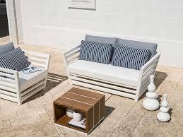 TECLA   <b>2 seater garden sofa</b> Tecla Collection By Braid