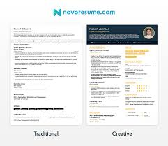 A Perfect Example Of Modern Resume