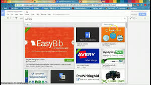 easybib add on google docs a tutorial easybib add on google docs a tutorial