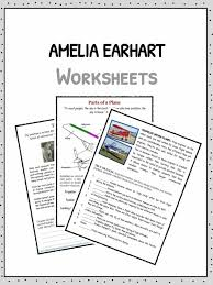 amelia earhart facts information worksheets for kids the amelia earhart facts worksheets