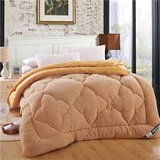 High quality thicken thermal berber fleece quilt twin wool ... & High quality thicken thermal berber fleece quilt twin wool cashmere quilt  Warm fibers quilts bedding bedding Adamdwight.com
