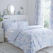 classic charlotte thomas amelie bedding duvet cover 2 pillowcases set blue king size co uk kitchen home