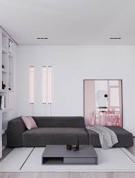 Pink And Gray Room Designs A Striking Example Of Interior Design Using Pink Grey