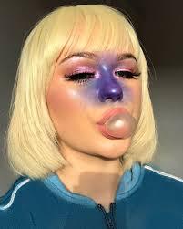 ellie addis violet beauregarde halloween makeup costume
