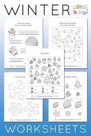Winter Worksheets for Kindergarten   Worksheets, Free printable ...