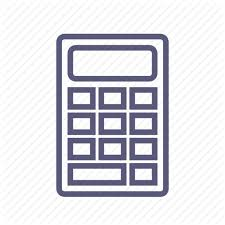Sum Total Calculator Cost Count Shipping Sum Total Value Icon