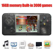 Máy chơi game 4 nút cổ điển các dòng máy 16GB 3000 trò chơi giảm chỉ còn  1,359,876 đ
