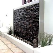 stone wall water features make your house features stunning with wall water features garden design