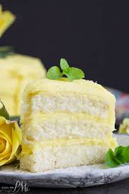 Lemon Layer Cake With Lemon Curd And Lemon Buttercream Call Me Pmc