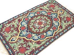 orange and green rug multi area