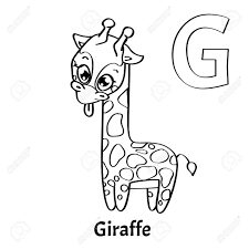 Search through 52013 colorings, dot to dots, tutorials and silhouettes. Vector Alphabet Letter G Coloring Page Giraffe Royalty Free Cliparts Vectors And Stock Illustration Image 86026341