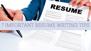 Important Resume Tips 7 Important Resume Writing Tips You Cant Afford To Overlook Gradism