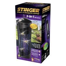 Stinger Mosquito Light Stinger Bk800 5 In 1 Insect Zapper Black