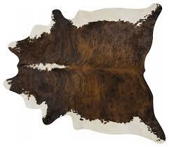 pergamino brindle backbone cowhide rug extra extra large