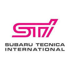 subaru tecnica international logo. Plain Logo Pink STI Logo With Text Stickers  Various Colours And Sizes For Subaru Tecnica International