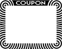 Coupon Outline Template Coupon Outline Clip Art Dromfeh Top 2 Image 29495