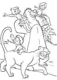 Gratis Jungle Book Kleurplaten Voor Kinderen 2