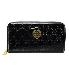 ... Pink Wallets 52203 Coach Waverly Hearts Accordion Zip Large Black  Wallets DVE ...