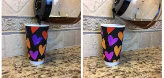 Heat Activated Paint Diy Color Changing Mug
