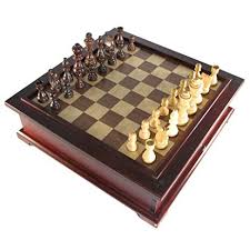 Wooden Multi Game Board Best Amazon 32 In 32 Wooden MultiGame Chess Set Toys Games
