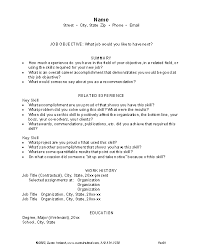 ... Unthinkable Premade Resumes Template Resume Templates Medium Size ...