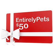 pet gift certificates 50 entirelypets com gift certificate