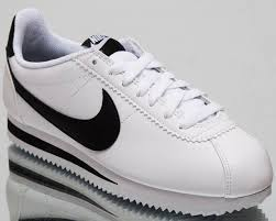 nike classic cortez leather womens white casual lifestyle sneakers 807471 101