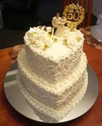 50th Wedding Anniversary Cake Cakecentralcom