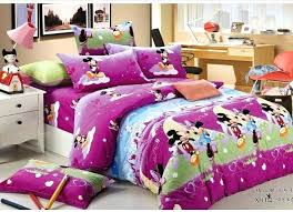 minnie bed set mouse full size comforter set purple brushed cotton mickey and bedding sets kids minnie bed set mickey mouse