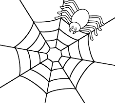 Small Picture Spider Web Coloring Pages 2 Spider Web Coloring Page nebulosabarcom